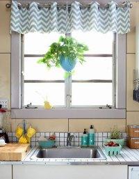 Kitchen curtains - modern interior design ideas