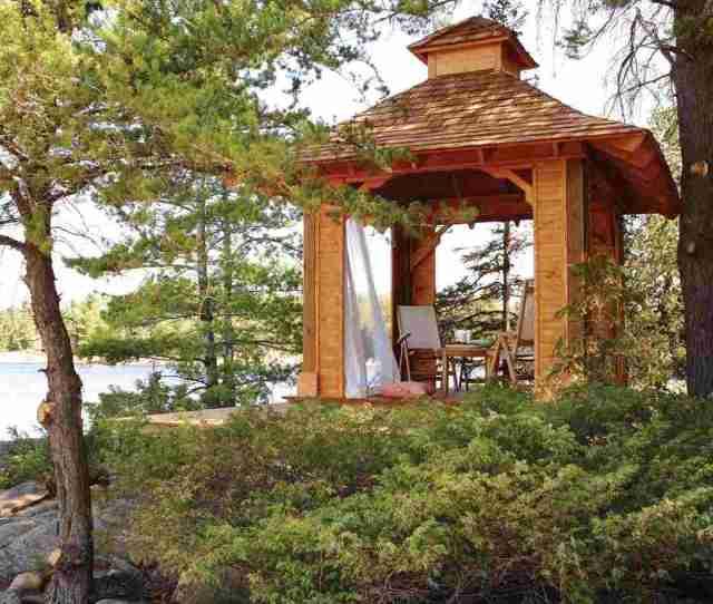The Romantic Garden Gazebo  Designs And Ideas
