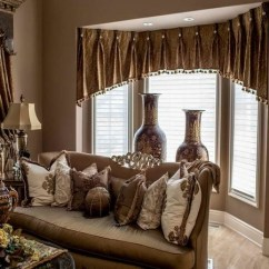 Window Treatment Ideas For Living Room Cute Ways To Decorate Your 50 Valance Curtains The Interior Design Of Home Elegant