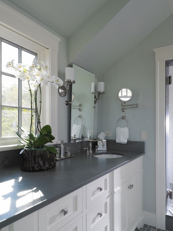 backsplash stick on tiles kitchen farmers sinks for the beauty of natural materials – slate countertops ...