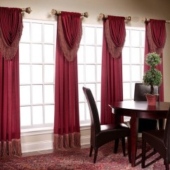 Red Valances For Kitchen Windows Knife Sharpening 50 Window Valance Curtains The Interior Design Of Your ...
