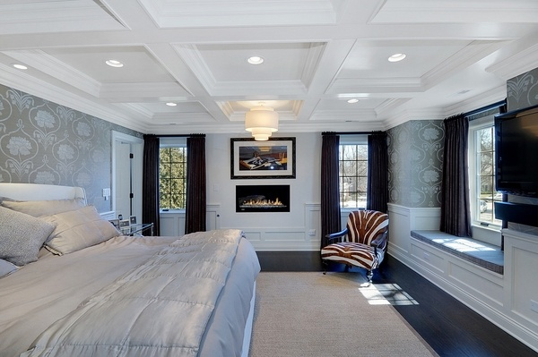 The beauty and advantages of coffered ceilings in home design