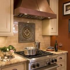 Kitchen Backsplash Design Commercial Supply 65 Tiles Ideas Tile Types And Designs Tudor Subway Pattern Medallion Behind The Stove
