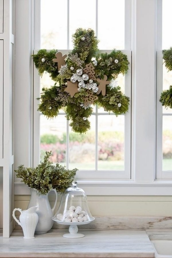 Christmas wreaths  75 ideas for festive fresh, burlap or