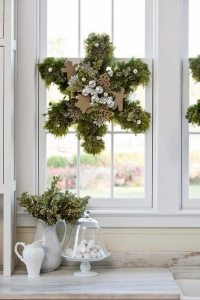 Christmas wreaths  75 ideas for festive fresh, burlap or