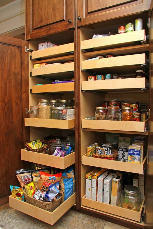 kitchen pantry organizer ceramic sinks 30 cabinet ideas for a well organized