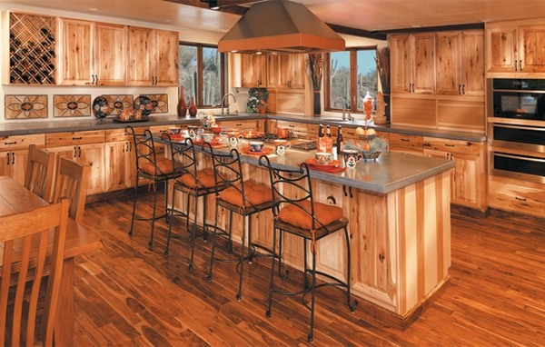 hickory kitchen island small commercial 33 best ideas cabinets for naturally beautiful 40 in the