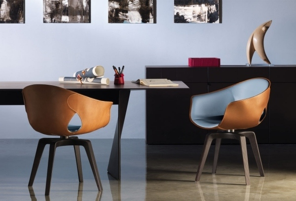 leather dining chairs modern tempurpedic desk chair in the room 50 awesome designs