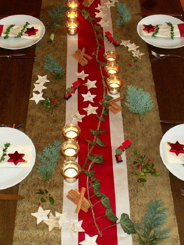 Christmas table decorations  30 inspirational ideas for the holiday