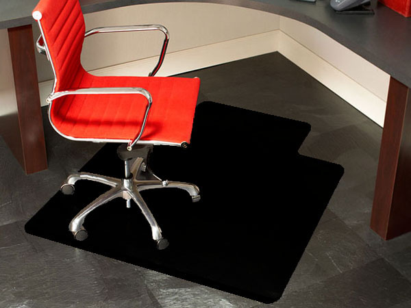 office chair mat covers rentals online creative floor protection ideas red modern furniture