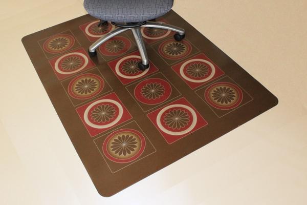 diy chair mat for hardwood floor baby high office creative protection ideas