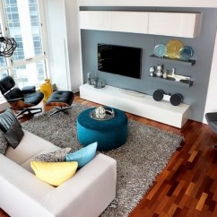 Living Room Pouf Designs For Old Homes Ottoman How To Incorporate It In The Home Decor Modern White Sofa Blue