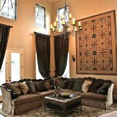 Decorating Living Room Wall Furniture Chaise Wrought Iron Decor Adds Elegance To Your Home Interior Design 1 25