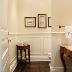 Chair Rail Pros And Cons Lift London Bathroom Wainscoting - The Finishing Touch To Your Design