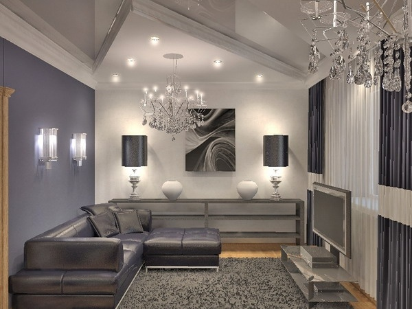 20 Gray Living Room Designs  The Elegance Of Gray In