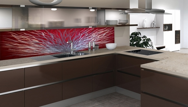 Red Kitchen Backsplash Ideas
