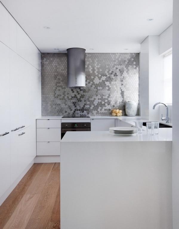 modern kitchen backsplash french table ideas tiles glass stone or metal