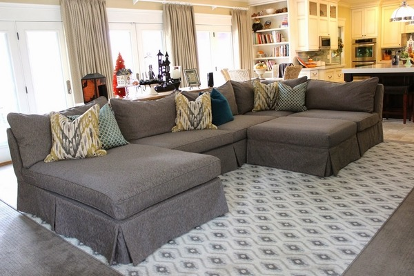 oversized couches welcoming and