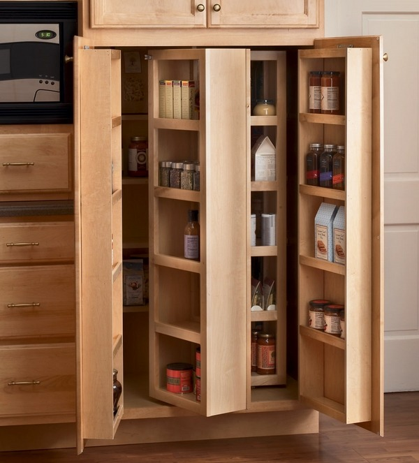 kitchen cabinets pantry wooden chairs freestanding storage and organizing ideas