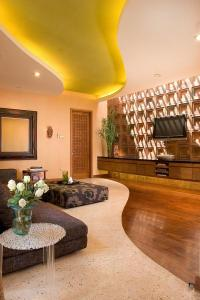 Modern terrazzo flooring in the home interior design