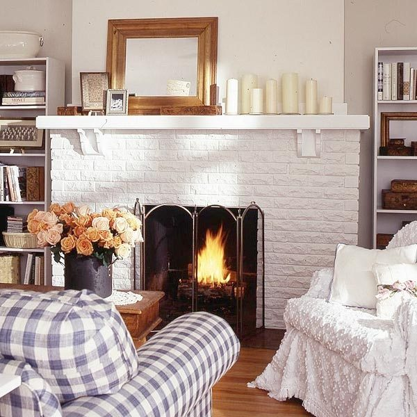 small living room ideas with brick fireplace swing makeover before and after cool makeovers design