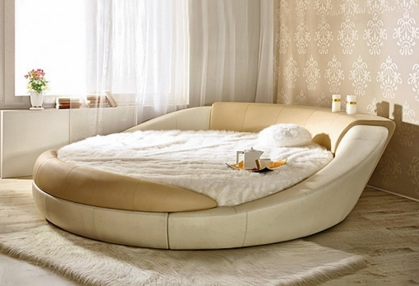 Cool round beds  unusual, extravagant or super comfortable?