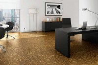 Cork floor - a practical alternative to wood floors