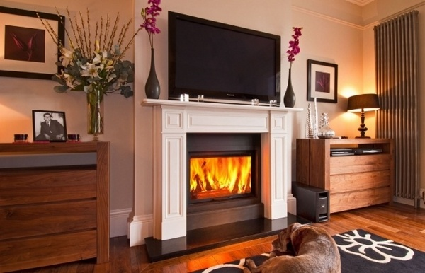 decorating a living room with fireplace and tv black white chairs cool ideas for mounting over in the