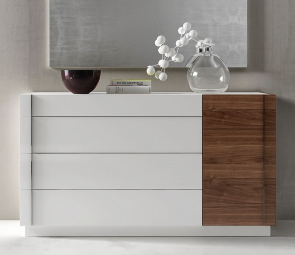 Modern white dressers  stylish bedroom furniture ideas