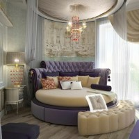 40 round bed ideas  an exciting atmosphere in the bedroom
