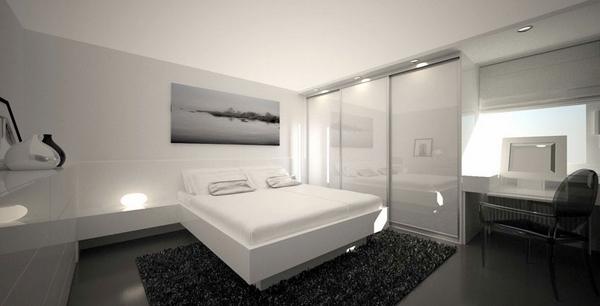 black and white minimalist bedroom ideas Minimalist bedroom ideas – cool interior designs in white