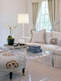 40 Lucite coffee table ideas  Fancy designs made of acrylic