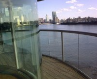 Glass balcony railings  enjoy the panorama view at any time