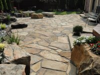 Flagstone patio ideas  the perfect outdoor space design