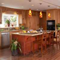 Kitchen island lighting ideas  contemporary pendant lamps