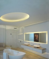 LED light fixtures - tips and ideas for modern bathroom ...
