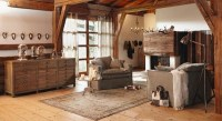 Rustic living room decor ideas  tips for choosing the ...