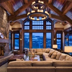 Rustic Living Rooms Gray Room With Brown Couch 2 Decor Ideas Tips For Choosing The Right Furniture