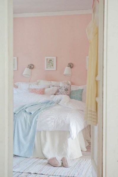 pastel color scheme bedroom Pastel color palettes in elegant bedroom designs