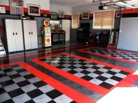 Durable Motofloor garage tiles  modular garage flooring ideas