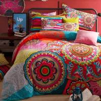 Moroccan bedding sets  spice up your bedroom with rich colors