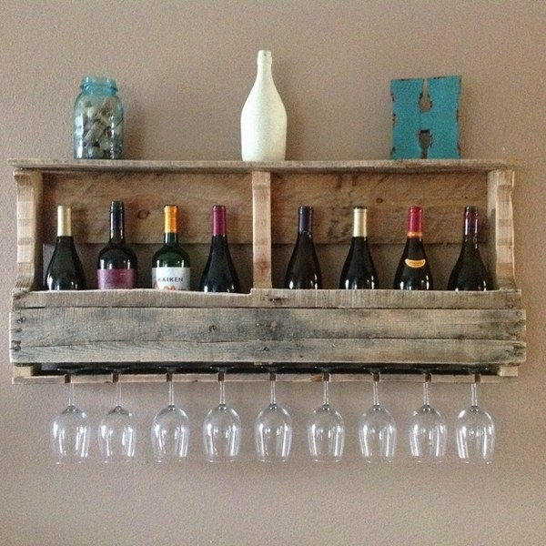 DIY pallet wine rack  instructions and ideas for racks