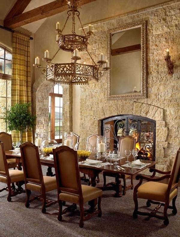 Tuscan Interior : tuscan, interior, Tuscan, Decor, Charming, Romantic, Interior, Designs, Rustic, Style