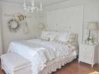 Shabby chic bedding sets  a romantic atmosphere in a ...