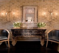 Beautiful faux brick walls  how to use them in the interior
