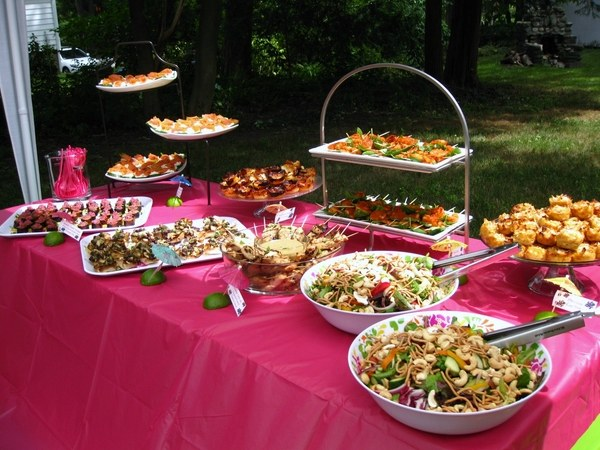 Garden Party Menu Ideas