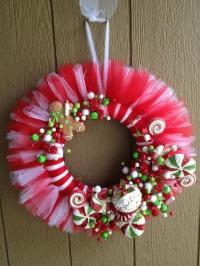 Magnificent DIY tulle wreath ideas  a romantic home ...