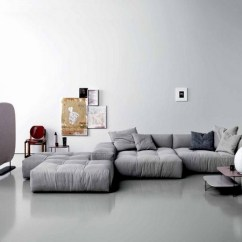 Sofa Gray Color Long Cushions For Sofas 40 Ideas A Hot Trend The Living Room Furniture