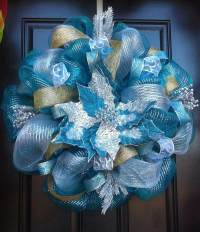 How to make a mesh wreath - deco mesh wreath tutorial with ...