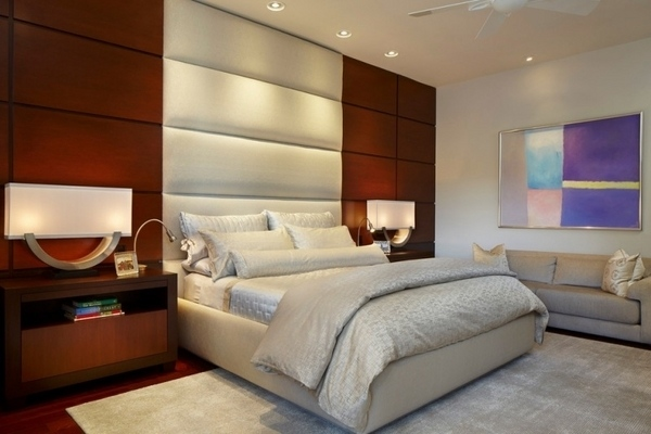 Tall Headboards Ideas A Dramatic Wall Decoration In The